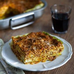 Lasagne alla Bolognese pronte da gustare