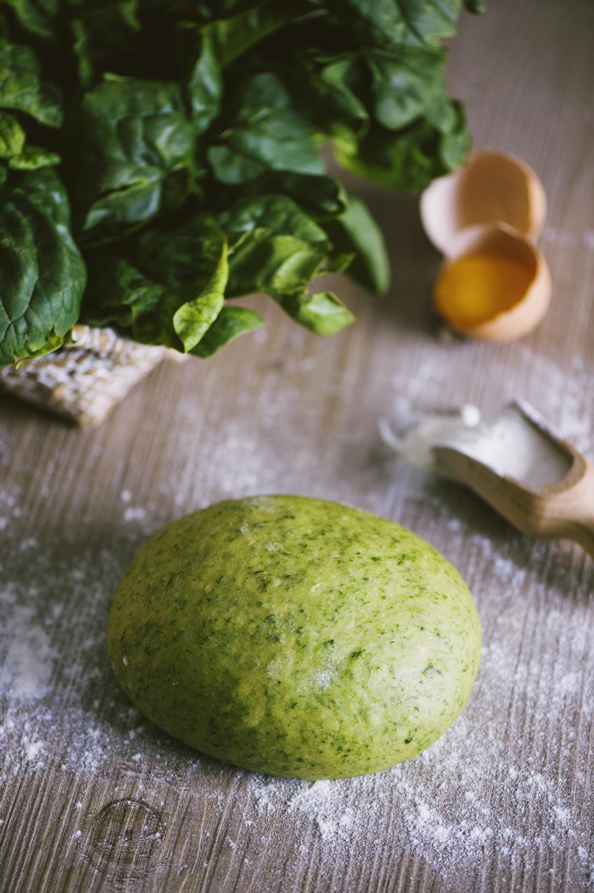 pasta fresca agli spinaci