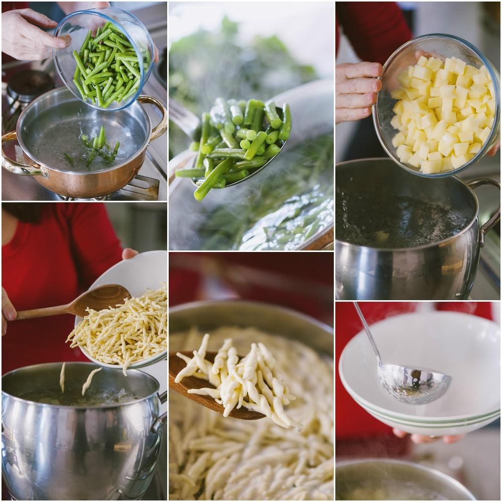 trofie al pesto patate fagiolini