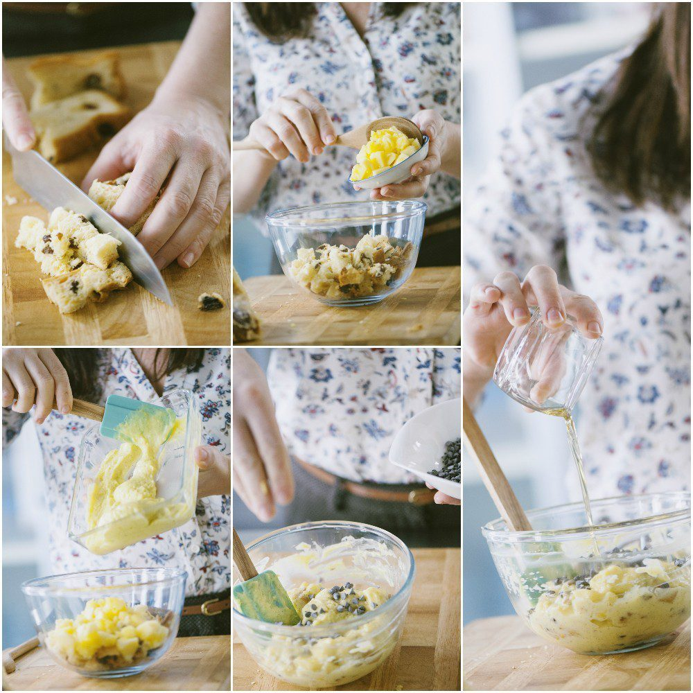 Ananas baby al panettone meringato