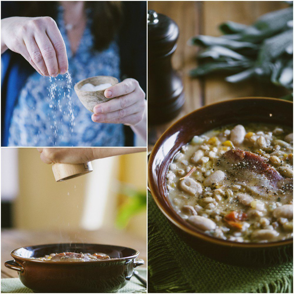 Zuppa di farro e fagioli