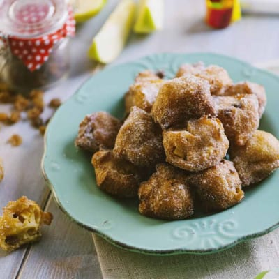 Tortelli di mele e uvetta