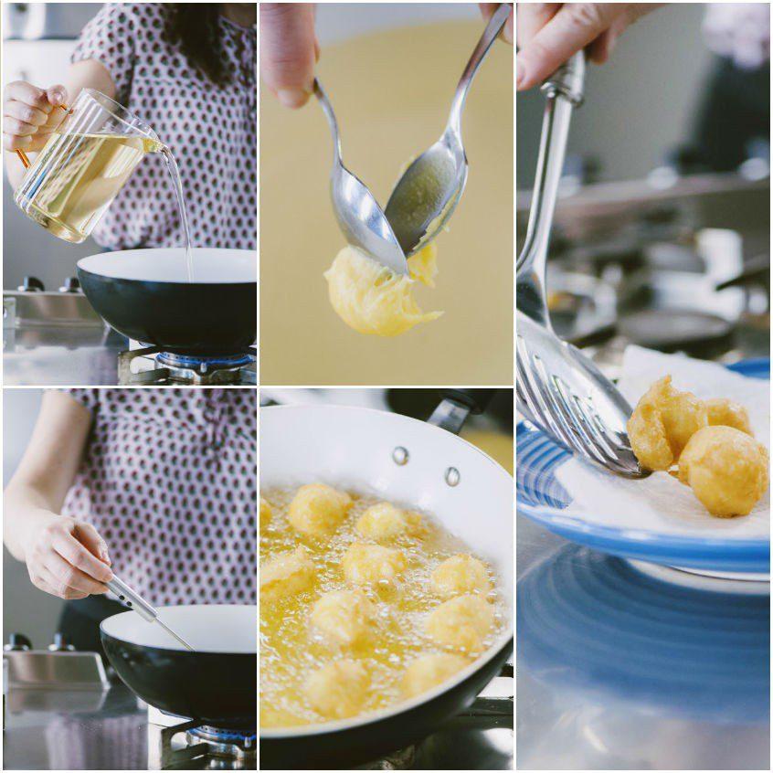 Tortelli salati al formaggio ripieni