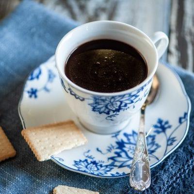 Cioccolata calda senza glutine e senza lattosio