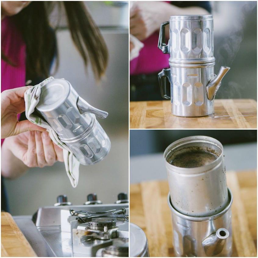 Come usare la caffettiera napoletana