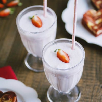 Milkshake alla fragola