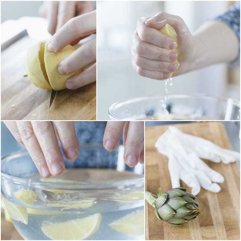 Come pulire i carciofi