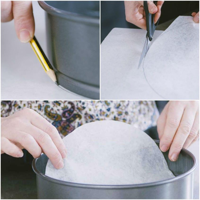 Come foderare una tortiera con la carta forno