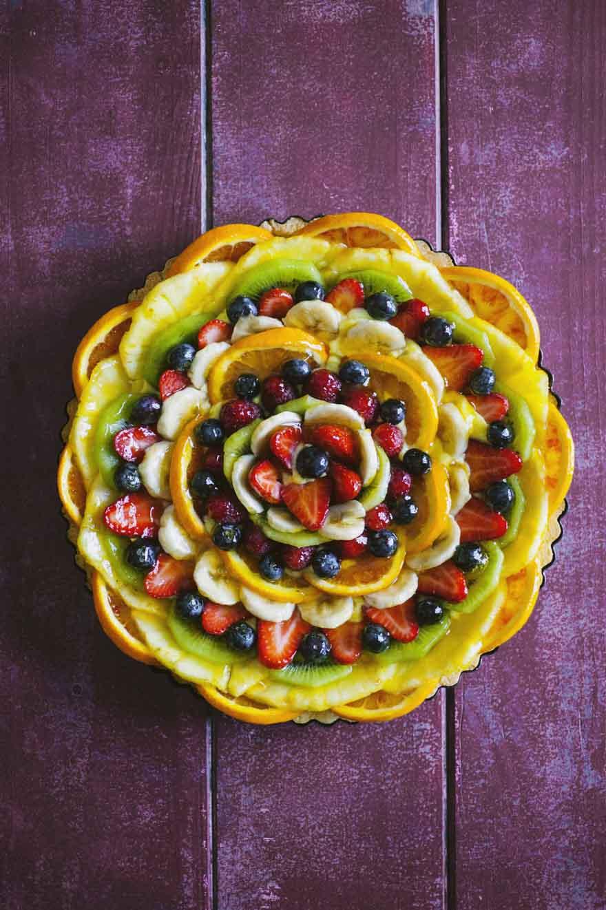 Crostata alla frutta, in tutta la sua freschezza!
