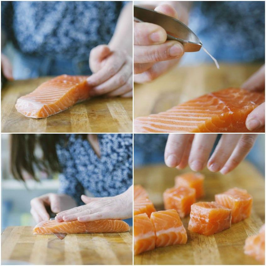 spiedini di pesce