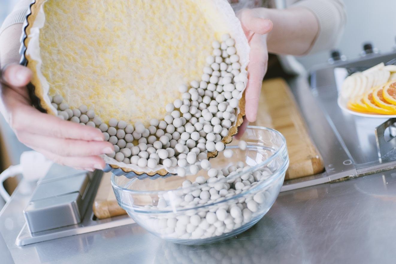Come fare la cottura alla cieca, per basi da farcire con la frutta!