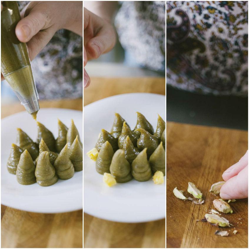 Cremoso al pistacchio e cioccolato bianco