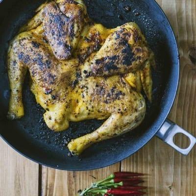 Pollo alla diavola, bello caldo e piccante!