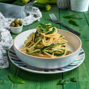 Pasta con le zucchine