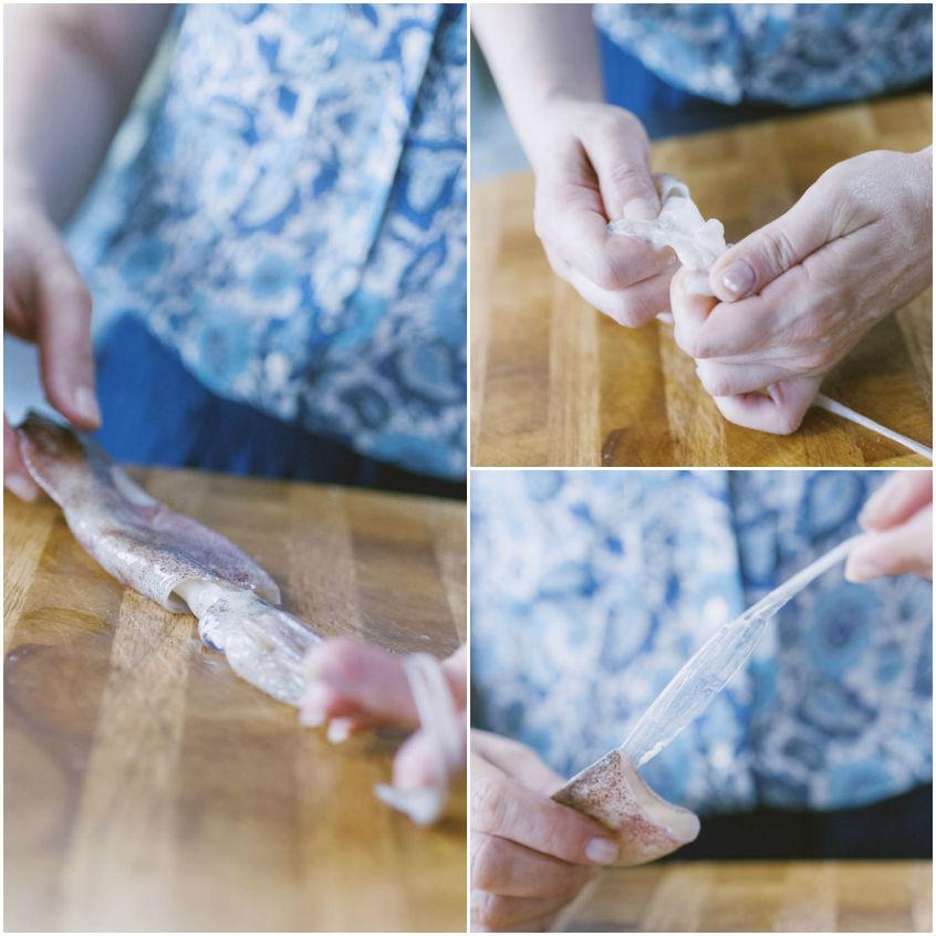 Come pulire i totani