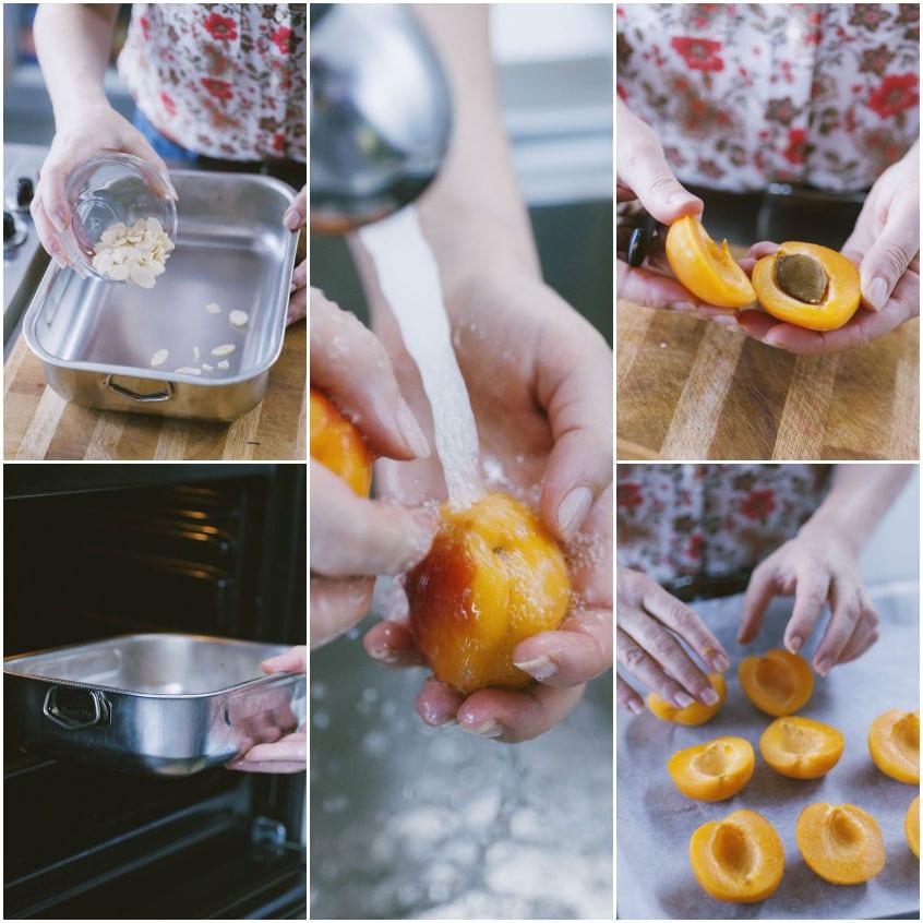 Albicocche al forno