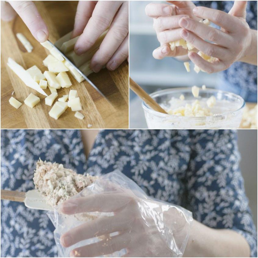 Chiocciola salata ripiena