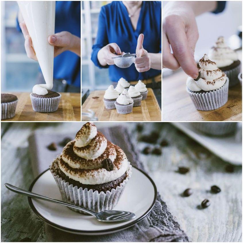 Cupcake al cappuccino