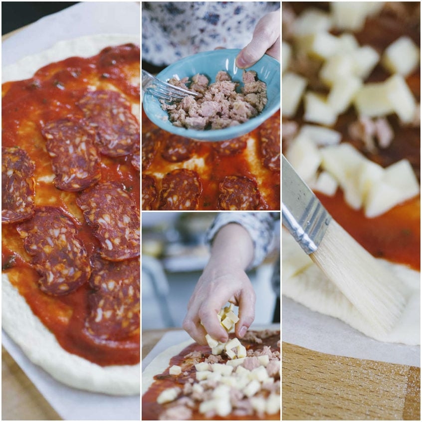 Rotolo di pizza