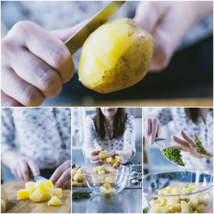 Straccetti di patate