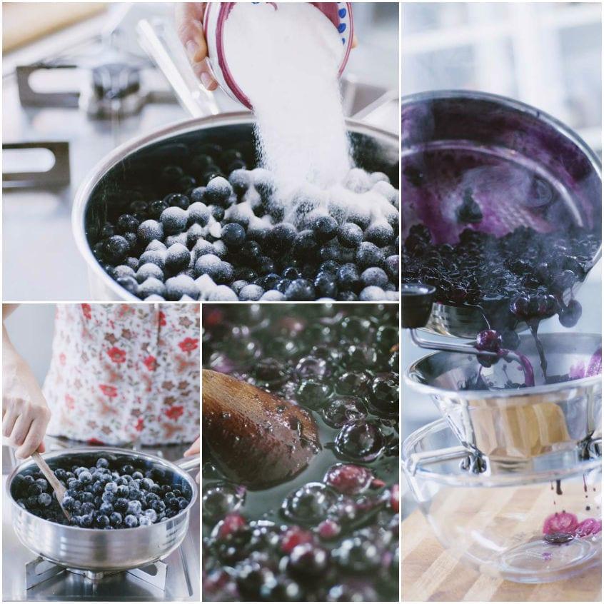 Sugoli di uva fragola