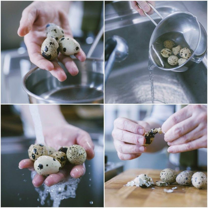 Uova alla scozzese di verdure