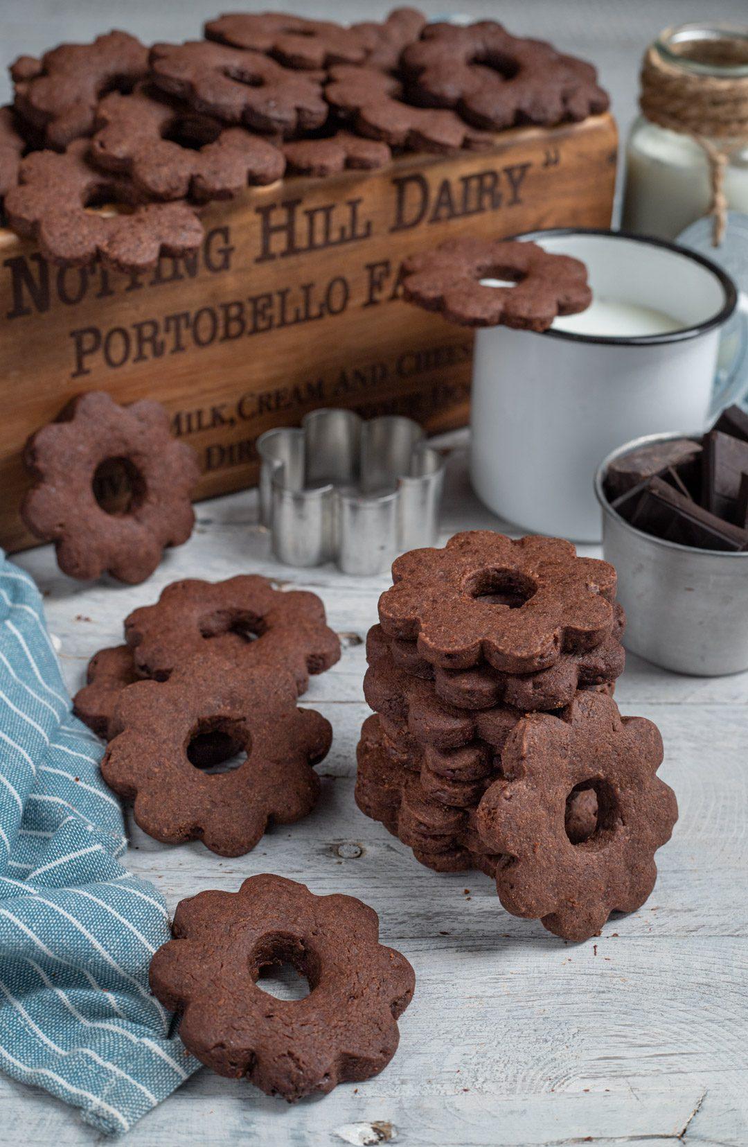 Canestrelli al cioccolato