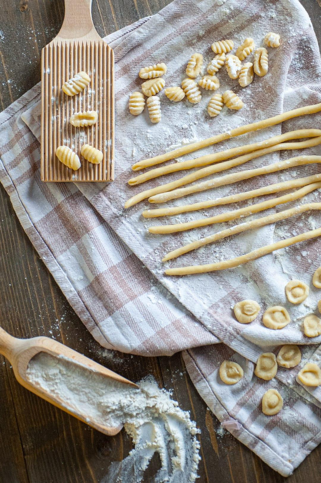 Pasta fresca di semola, per tutti i formati che preferisci