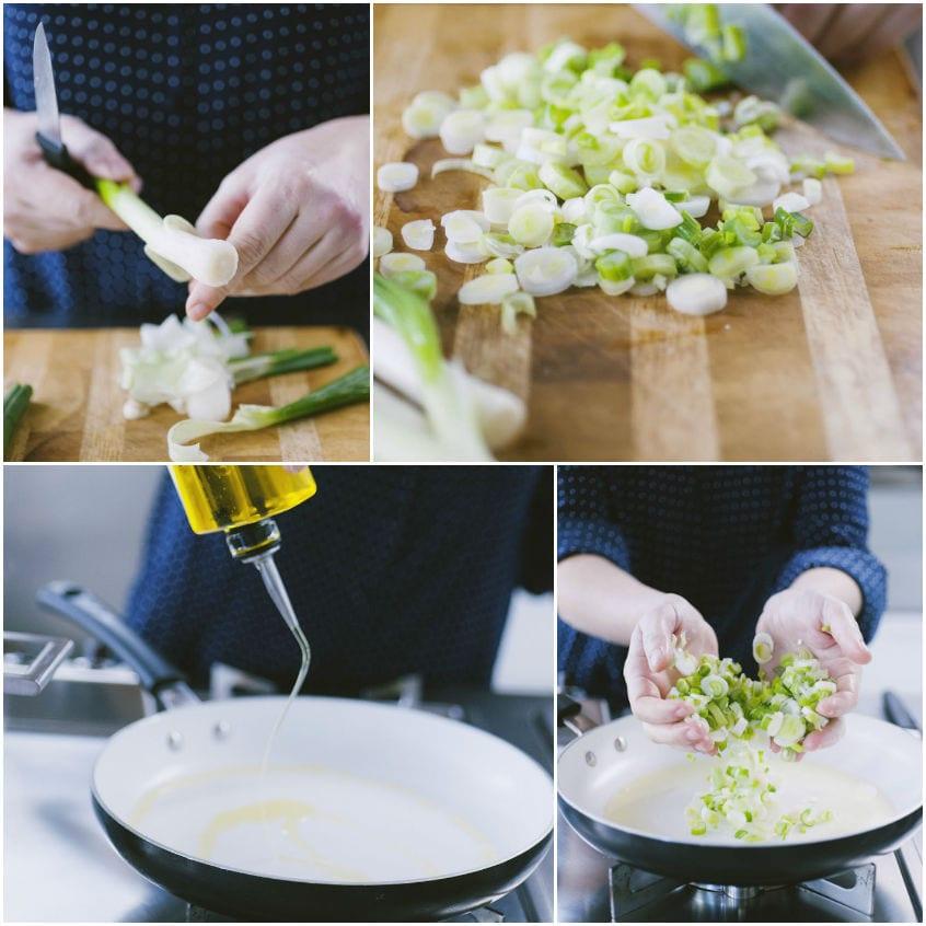 Gnocchetti di baccalà con salsa di cipollotti e zafferano
