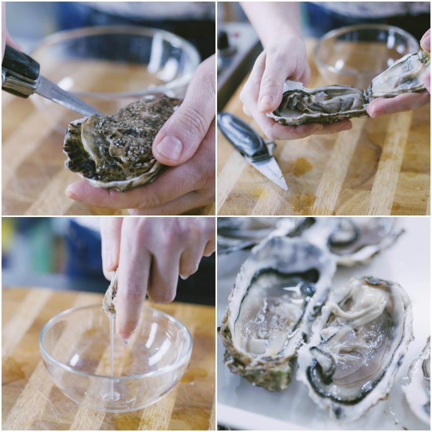 Come pulire le ostriche