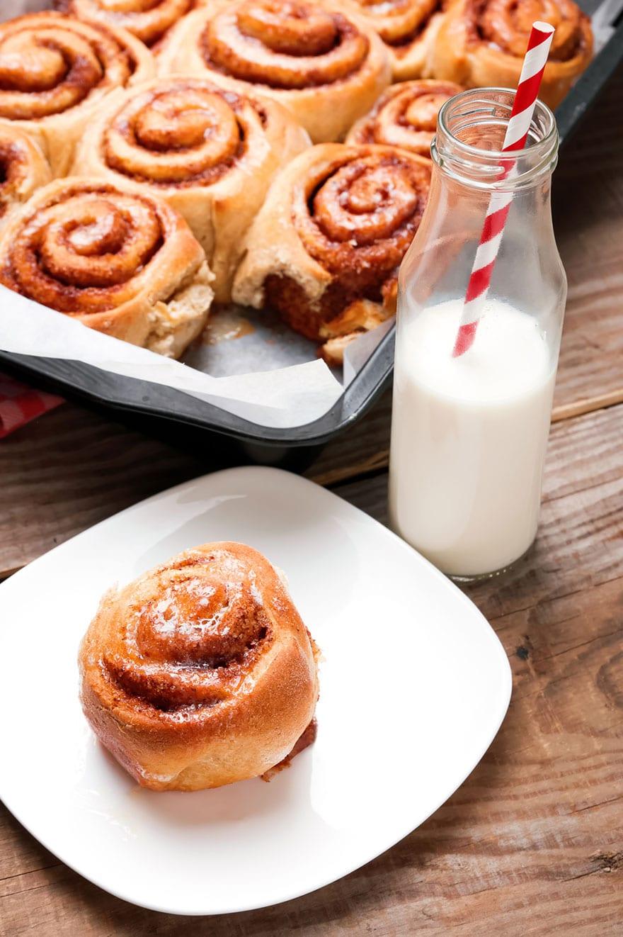 Cinnamon rolls, profumati e morbidissimi: una bontà!