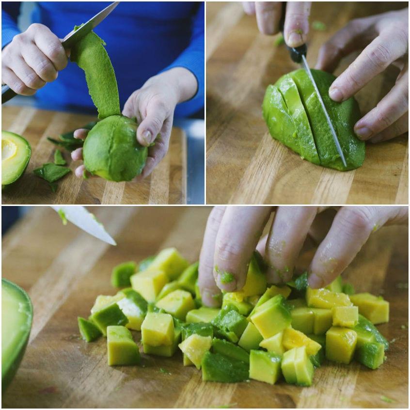 Come pulire gli avocado