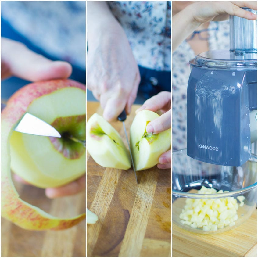 Zuppa di porri, finocchi e mele