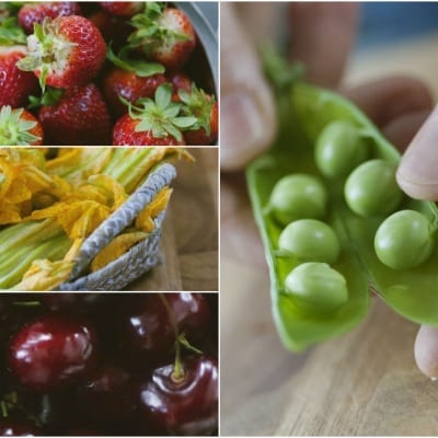 Frutta e verdura in primavera