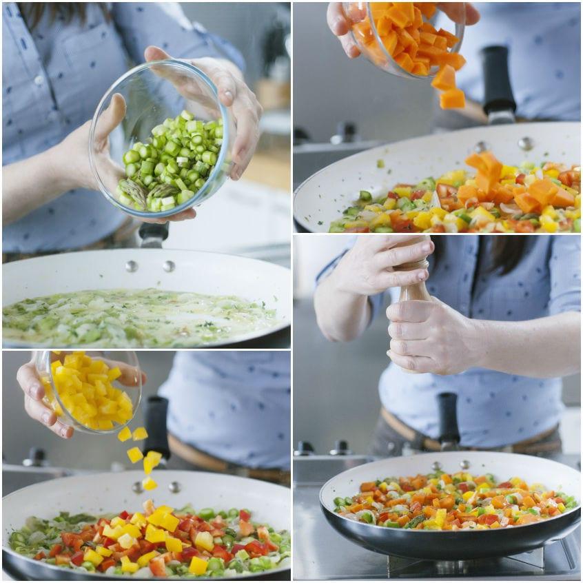 Quiche alle verdure