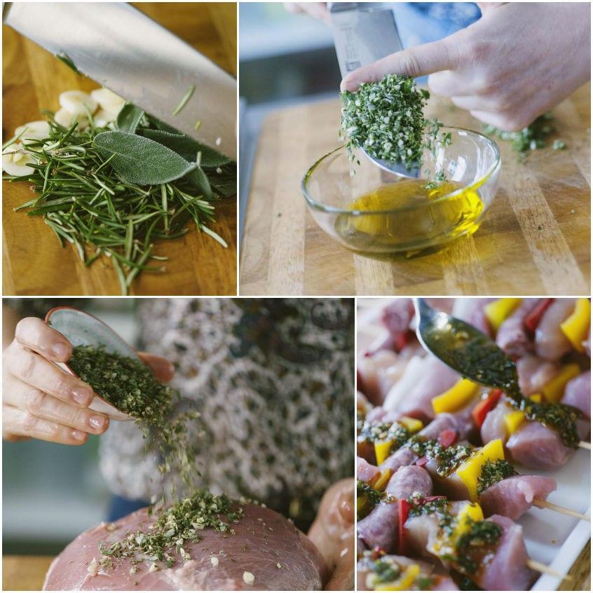 Erbe e piante aromatiche