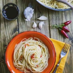 Spaghetti aglio, olio e peperoncino:un classico sempre amato
