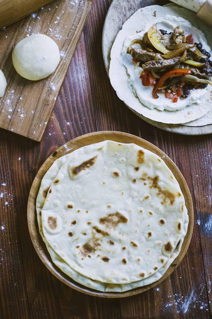Tortillas, piadine leggere e delicate da abbinare a ciò che vuoi