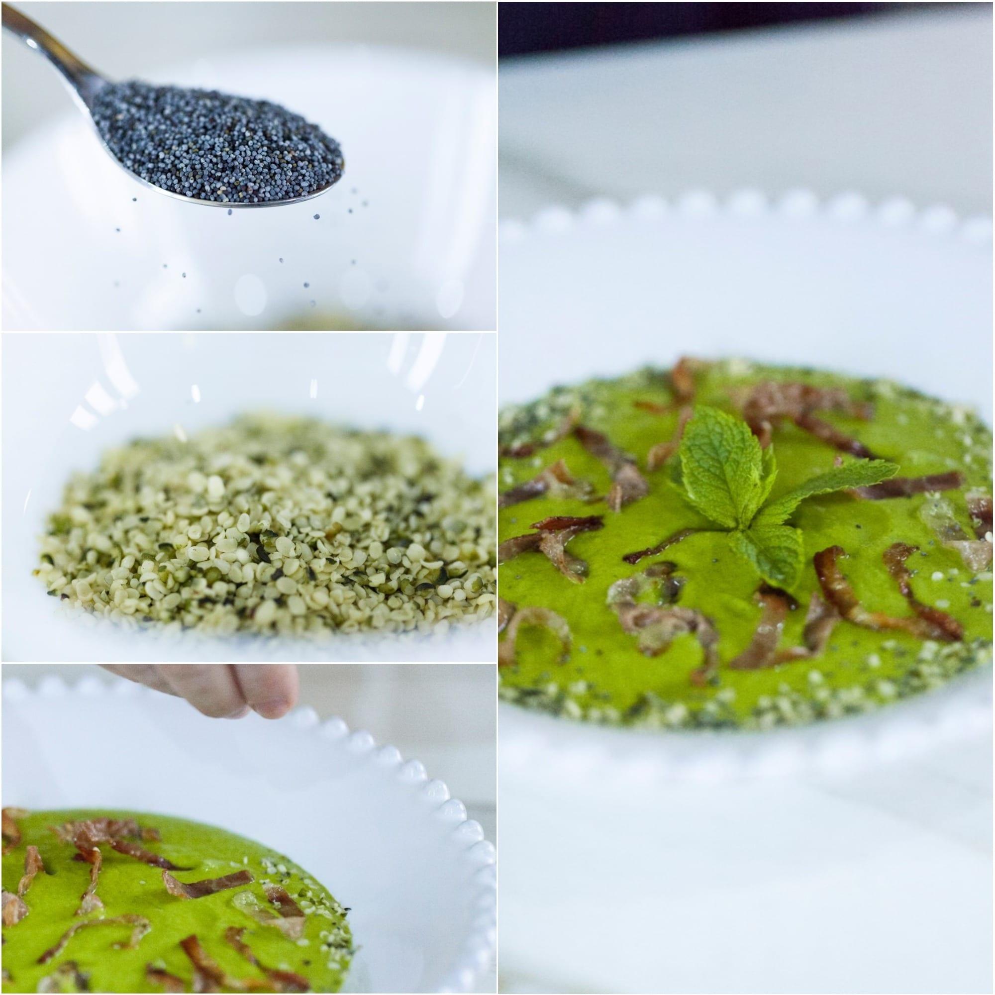 Crema di zucchine e menta