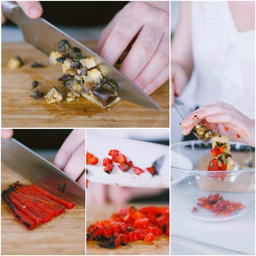 Tartare di verdure grigliate