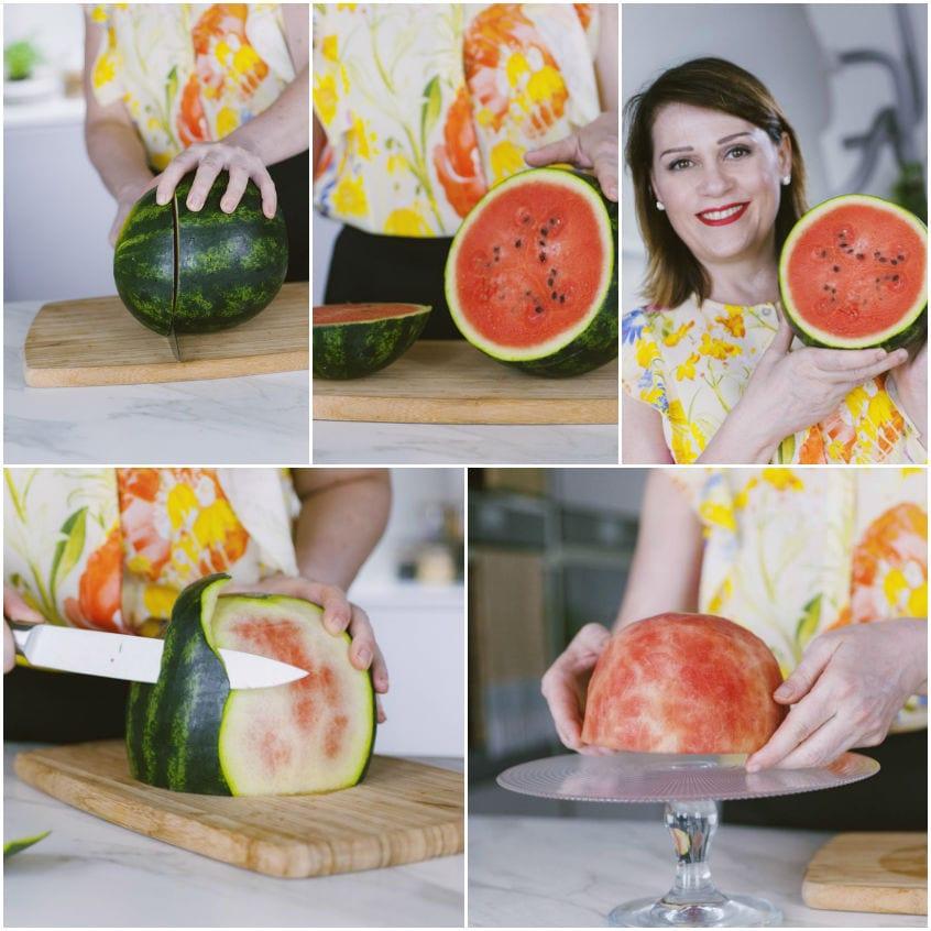 Zuccotto di anguria