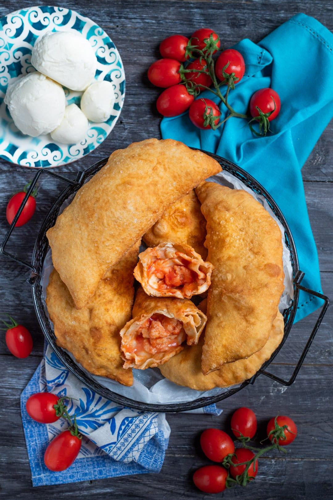 Calzone fritto ricetta