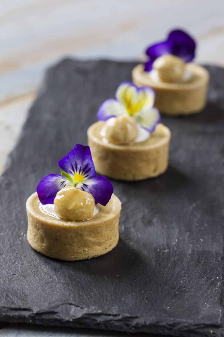 Tartellette allo yuzu