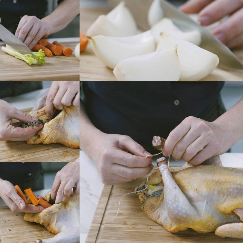 Faraona con patate
