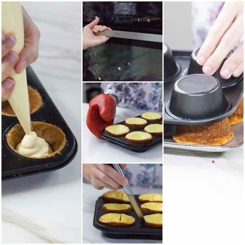 cheesecake con biscotti
