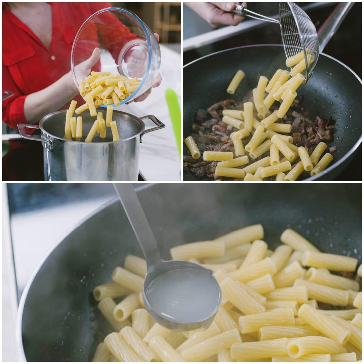 pasta gricia