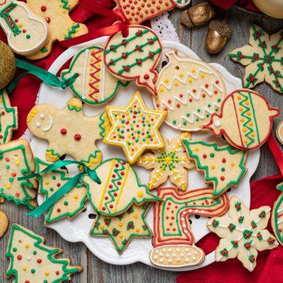 Biscotti di Natale senza glutine e senza lattosio