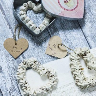 Ghirlande di meringa di San Valentino perfette come regalo