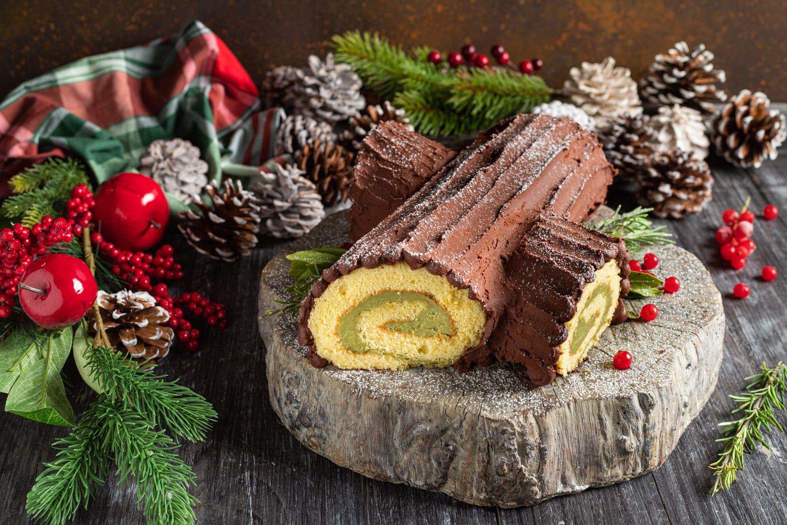 Come Decorare Il Tronchetto Di Natale.Tronchetto Di Natale La Ricetta Di Sonia Peronaci