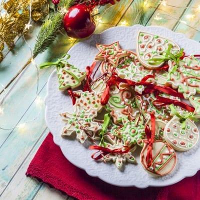 Biscotti di Natale senza glutine e lattosio